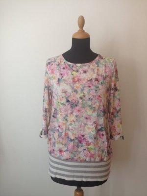 100 Camisa larga multicolor tejido mezclado