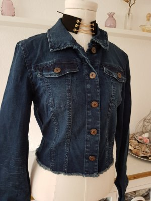 Leicht stretchige Cropped-Jeansjacke ONLY Gr.40