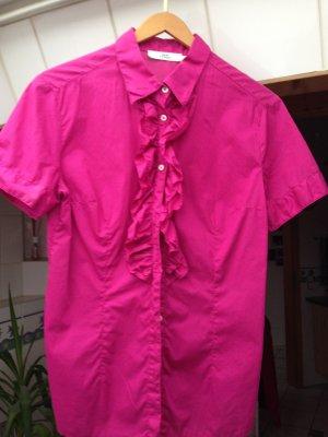 Leicht Taillierte Bluse in pink