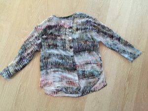 leicht transparente Bluse