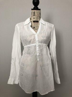 leicht transparente Bluse von edc by Esprit Gr. S
