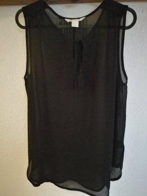leicht transparente Bluse von H&M