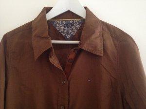 Leicht transparente Bluse von Tommy Hilfiger Denim Girl, Gr. L