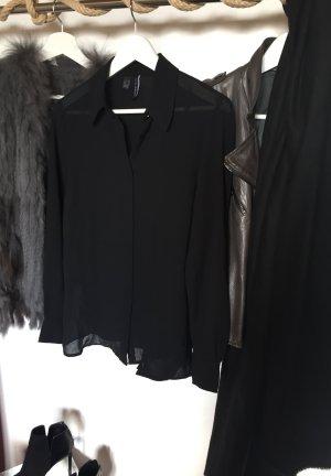 Leicht transparente fließende Bluse