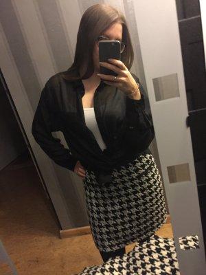 Leicht transparente H&M Bluse in schwarz