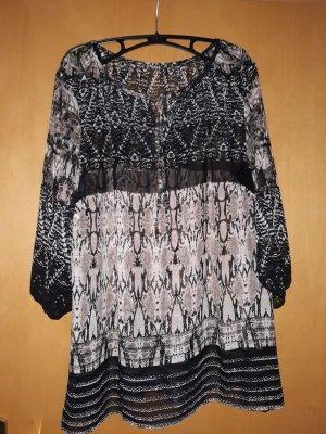 Sheego Tunique-blouse multicolore polyester