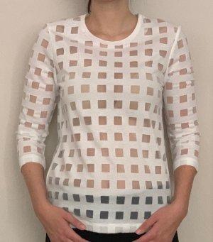 Leicht Transparentes weißes Shirt von COS