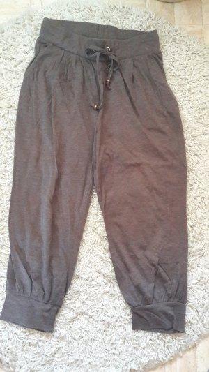 H&M Pantalone jersey oro-marrone-grigio