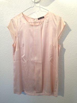 leichte ärmellose Bluse in rosa