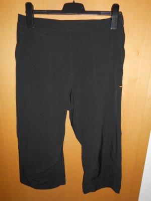 Alex. Max Pantalon 3/4 noir tissu mixte