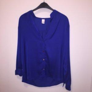 Leichte blaue Bluse von Vila