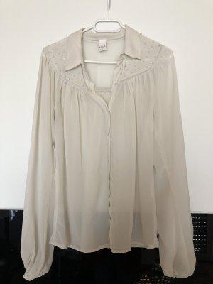 Vila Linnen blouse room-wolwit
