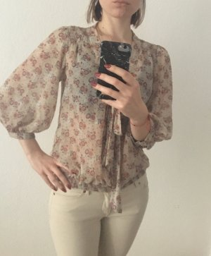 Zara Trafaluc Carmen Blouse multicolored