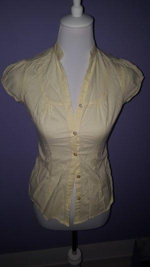 Arizona Mouwloze blouse sleutelbloem-lichtgeel