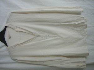 Leichte Bluse cremeweiß