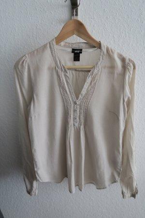 leichte Bluse in beige von H&M 36