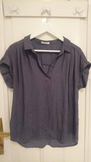 Leichte Bluse in grau