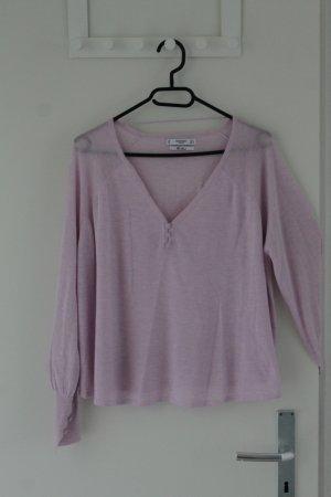 Leichte Bluse in rosa - ungetragen