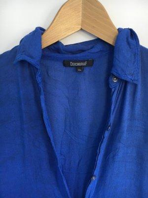 Leichte Bluse in tollem Blauton