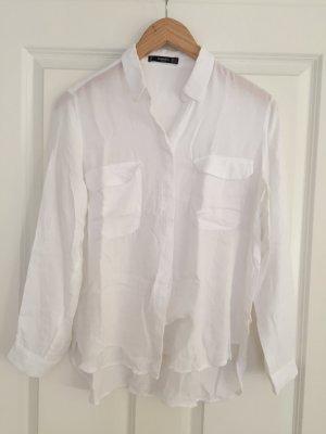 Leichte Bluse in weiß von Mango, Gr. S