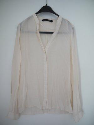 leichte Bluse in Zartrosa