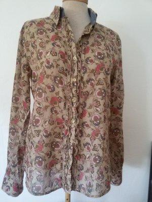 Leichte Bluse mit bezauberndem Blütenprint