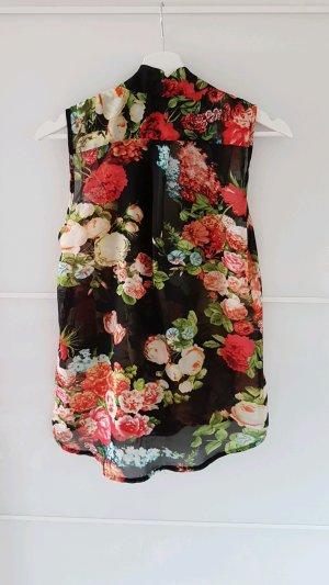 Leichte Bluse mit Blumenmuster