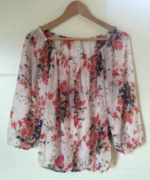 Leichte Bluse mit Blumenprint