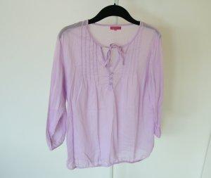 Leichte Bluse mit Gummisaum, Größe XL, neu