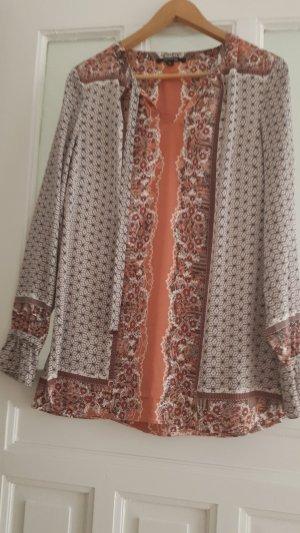 leichte Bluse mit interessanten Muster