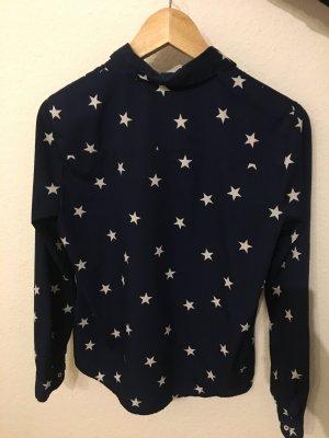 Leichte Bluse mit Sternenmuster