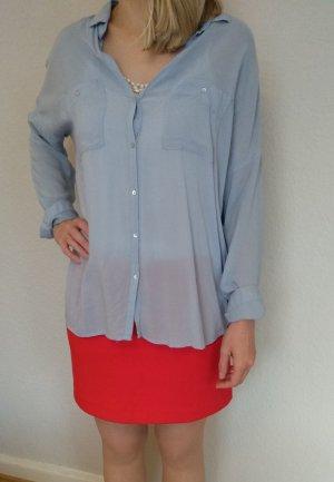 H&M Oversized blouse azuur