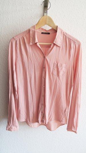 Marc O'Polo Blusa de manga larga rosa empolvado-rosa Algodón