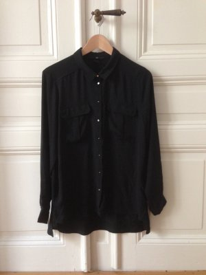 Leichte Bluse schwarz