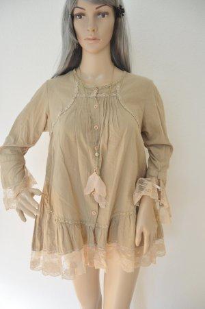 Leichte Bluse von Missy gr.M Beige