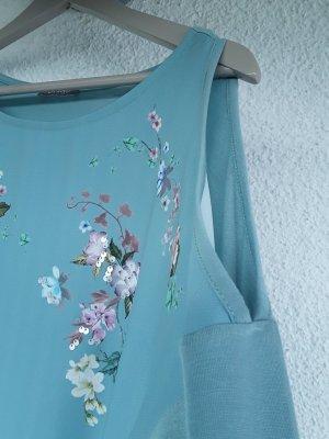 Orsay Print Shirt pale blue