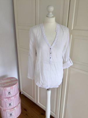 Leichte Bluse Zara weiß