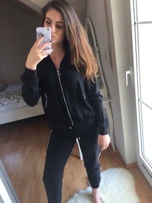 Bershka Bomberjack zwart