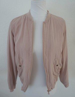 Takko Bomber Jacket pink viscose