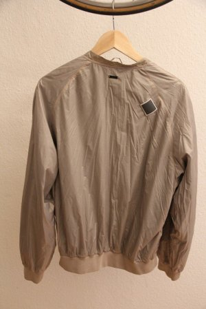Adidas SLVR Bomber Jacket grey brown