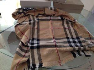 Leichte Burberry Schal Check-Muster*Original*180x65*Neu*Kaschmir