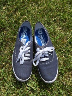 Leichte Canvas Schuhe marineblau