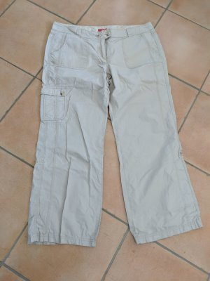 s.Oliver Cargo Pants oatmeal cotton