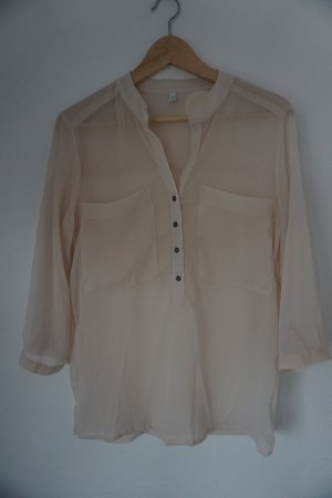 Only Blouse à enfiler vieux rose polyester