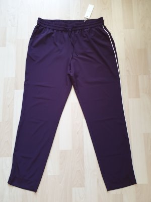 Opus Chinos lilac-blackberry-red polyester