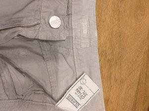 Closed Pantalon en velours côtelé gris clair