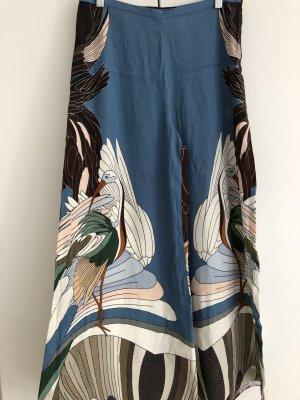 Zara Culotte multicolore viscose