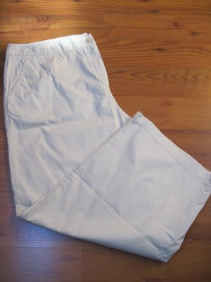 Leichte Damen Hose / Damenhose von Fabiani,  Gr. 46, beige, 3/4 lang