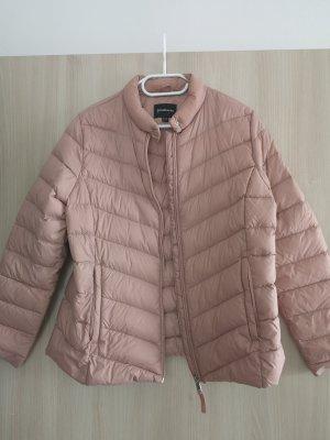 Stradivarius Down Jacket dusky pink