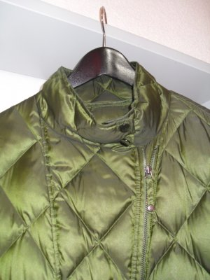 Leichte Daunenjacke Military Green